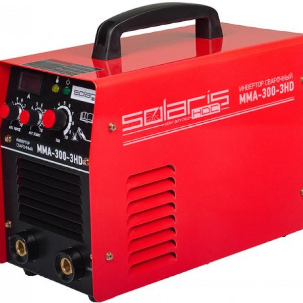 Cварочный аппарат Solaris MMA-300-3HD + AK
