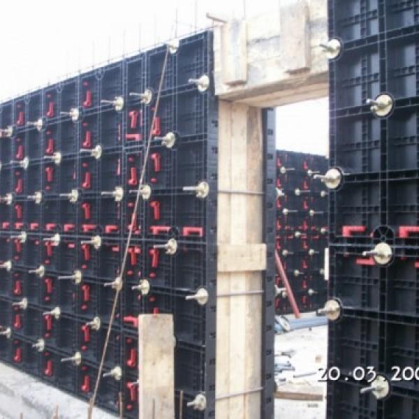 Пластиковая опалубка стен СТС