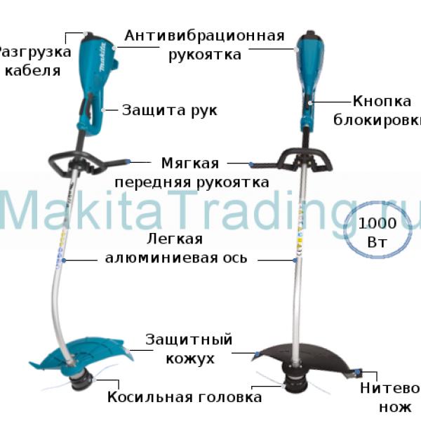 Триммер электрический Makita UM4030