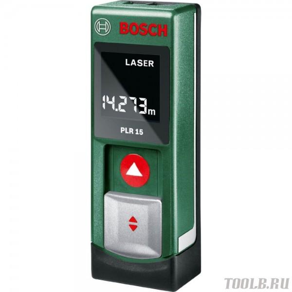 Дальномер лазерный Bosch PLR 15