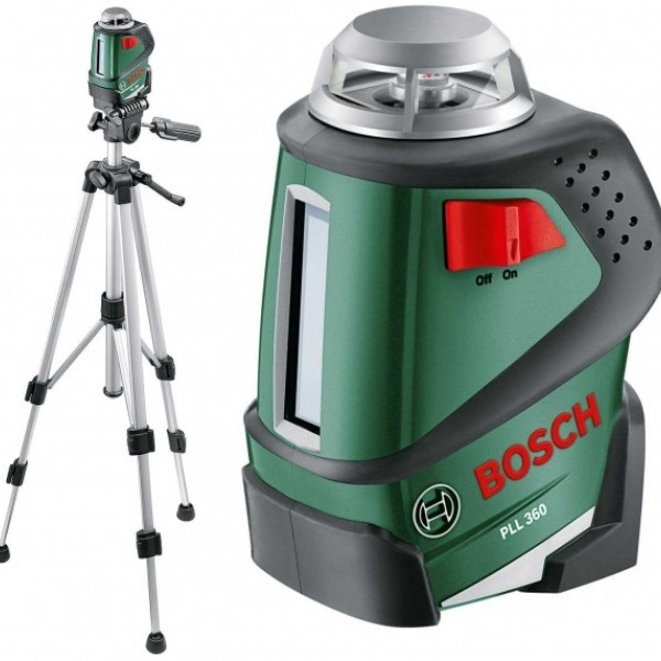 Линейный лазерный нивелир Bosch PLL 360 Set